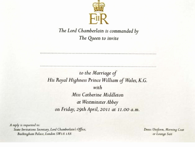 Invitation Dress Code Wording Luxury the Royal Wedding Dress Code Uniforms Morning Coats or