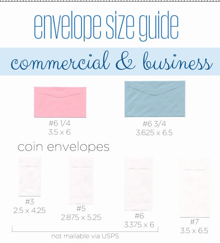 Invitation Envelope Sizes Chart Best Of Envelope Size Guide Business and Invitation Envelopes