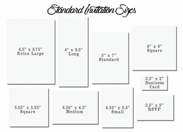Invitation Envelope Sizes Chart Inspirational 30 Elegant Image Of Wedding Invitation Size Regiosfera