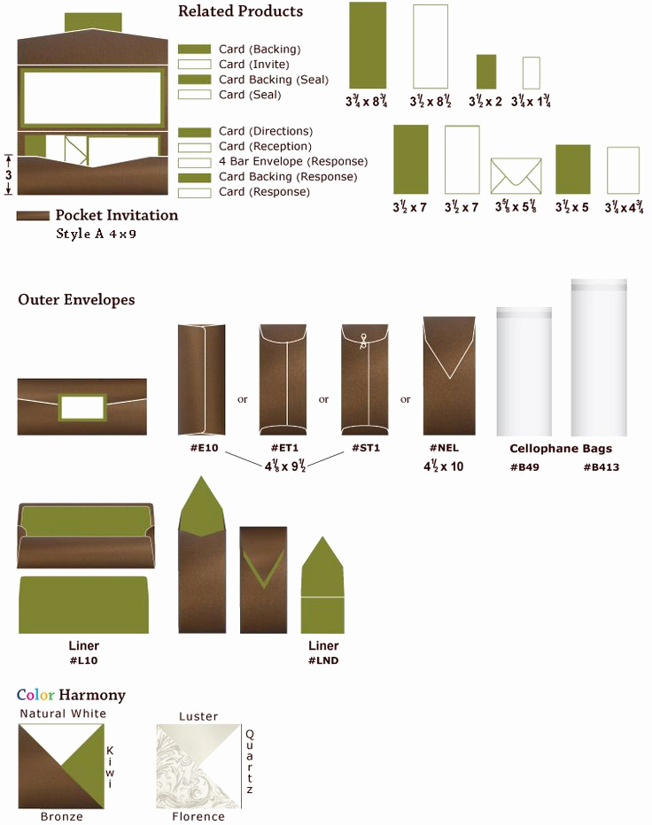 Invitation Envelope Sizes Chart Luxury 24 Best tools Of the Trade Images On Pinterest