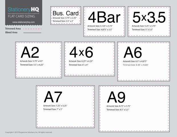 Invitation Envelope Sizes Chart Unique Flat Card Size Chart Templates Pinterest