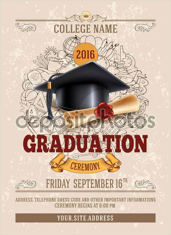 Invitation for Graduation Ceremony Best Of 44 Invitation Templates Download