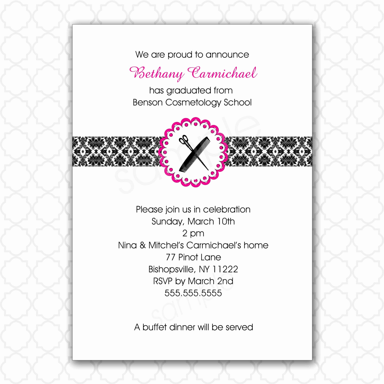 Invitation for Graduation Ceremony Inspirational Card Template Nursing Pinning Ceremony Invitations