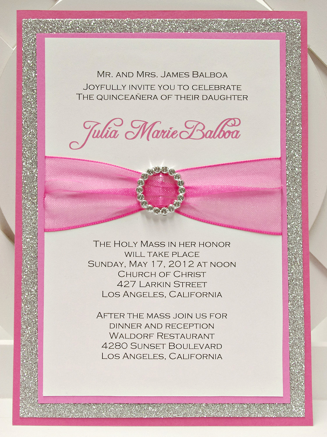 Invitation for Quinceaneras Samples New Quince Invitation Templates