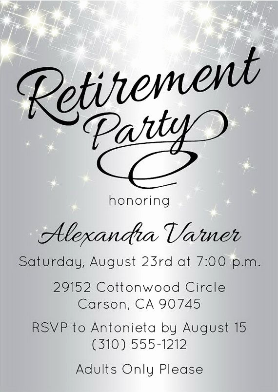Invitation for Retirement Party Best Of Best 25 Retirement Invitations Ideas On Pinterest