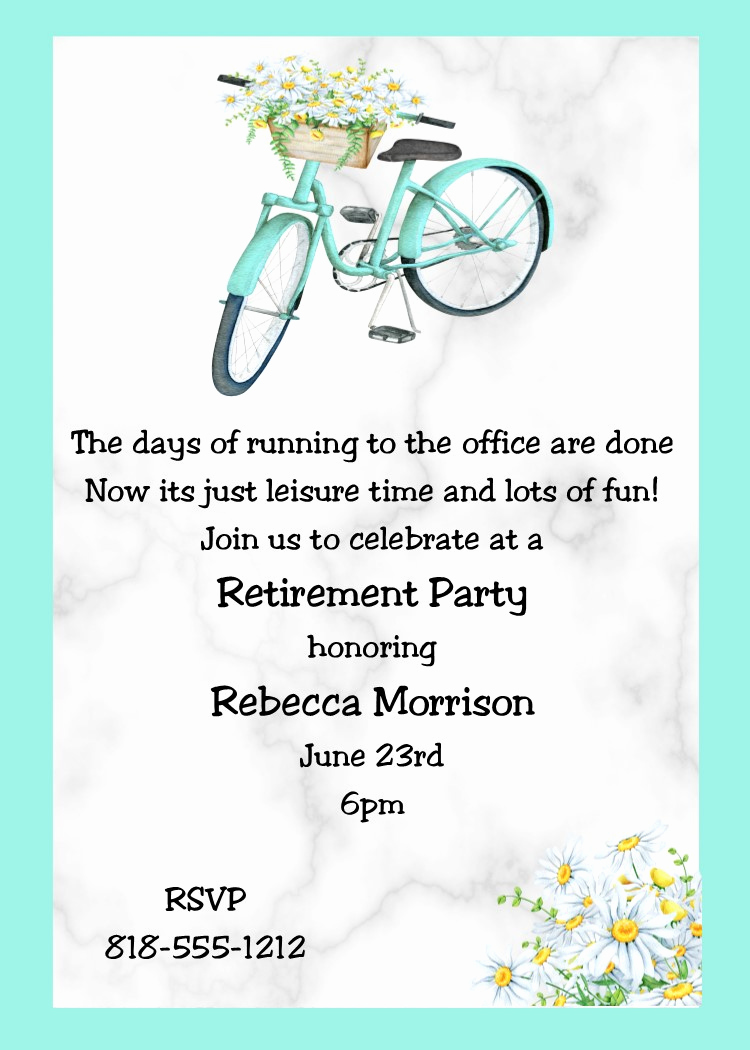 Invitation for Retirement Party Fresh Retirement Party Invitations Custom Designed New for
