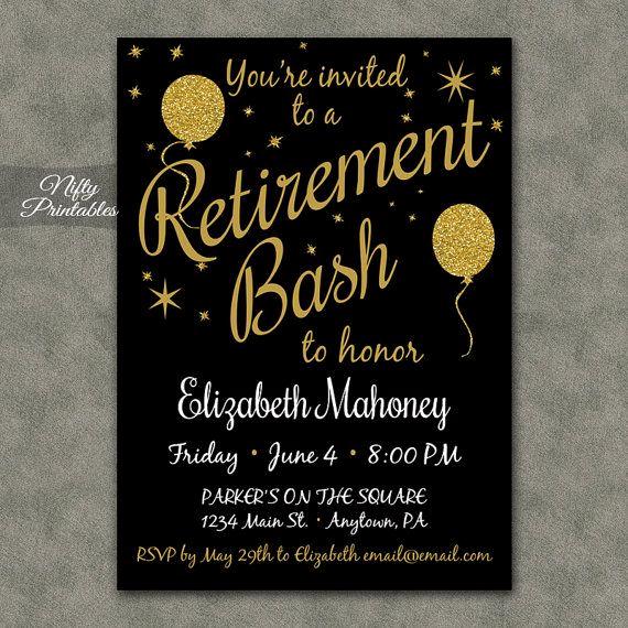 Invitation for Retirement Party Lovely Best 25 Retirement Invitations Ideas On Pinterest