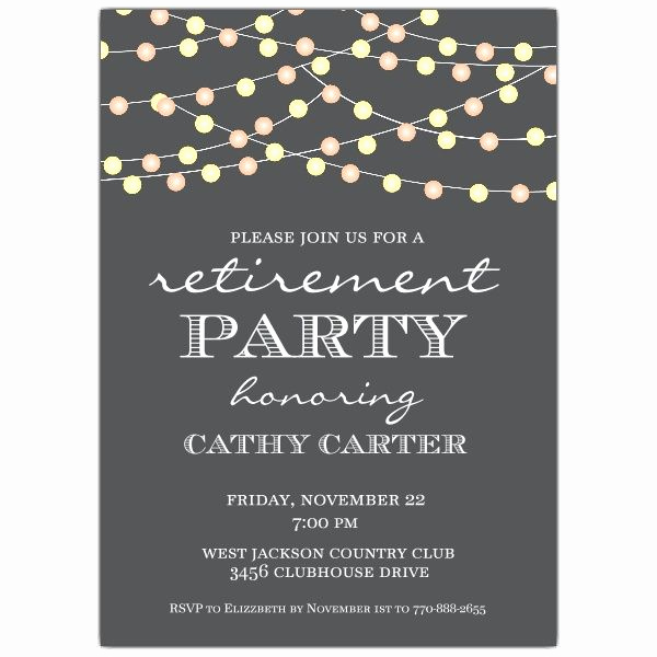 Invitation for Retirement Party New Best 25 Retirement Invitations Ideas On Pinterest