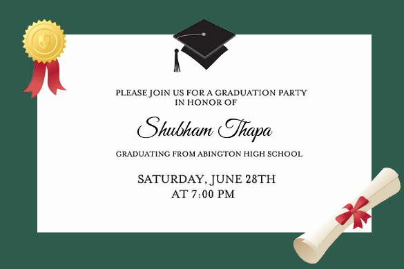 Invitation Ideas for Graduation Lovely Graduation Party Invitations