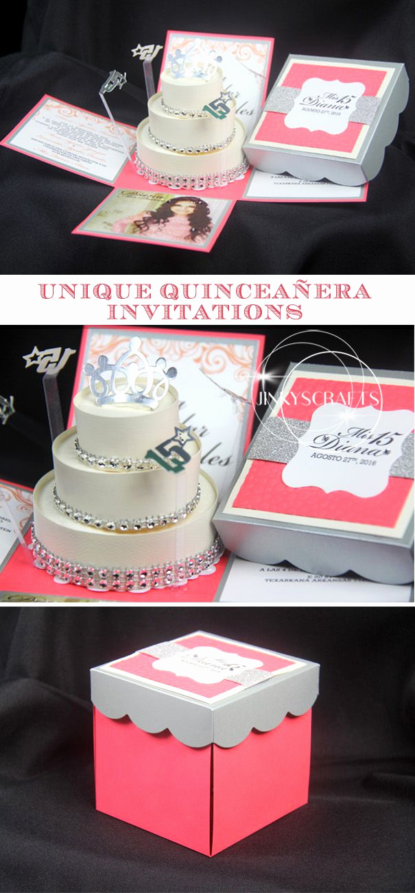 Invitation Ideas for Quinceanera Beautiful Best 25 Quinceanera Invitations Ideas On Pinterest
