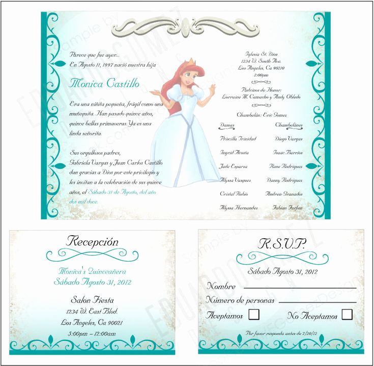 Invitation Ideas for Quinceanera Beautiful Finished Project Quinceanera Invitation