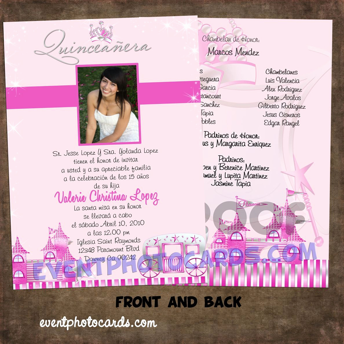 Invitation Ideas for Quinceanera Fresh Princess Beautiful Quinceanera Sweet 16 Invitations