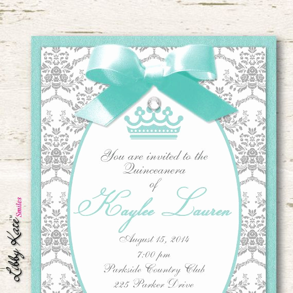 Invitation Ideas for Quinceanera Inspirational Best 25 Sweet 15 Invitations Ideas On Pinterest