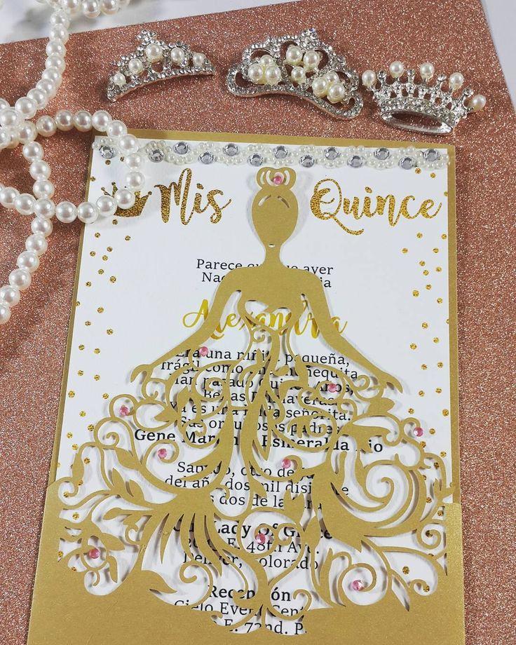 Invitation Ideas for Quinceanera Luxury Best 25 Sweet 15 Invitations Ideas On Pinterest