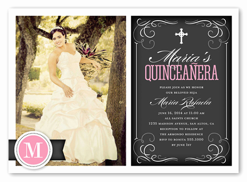 Invitation Ideas for Quinceanera New Flourishing Fifteen Quinceanera Invitations