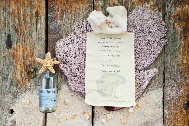 Invitation In A Bottle Beautiful island Wedding Invitation In A Bottle Trophy Mom Diaries