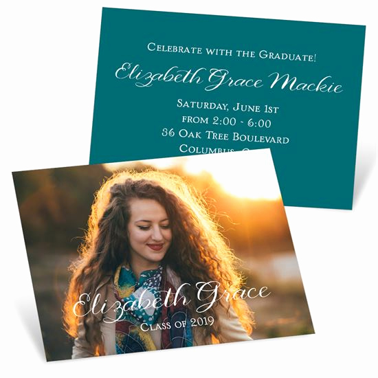 Invitation Inserts for Graduation Party Best Of Graduation Mini Announcements Custom Designs From Pear Tree