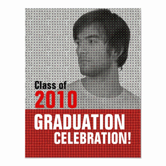 Invitation Inserts for Graduation Party Inspirational Insert Graduation Party 3 Invitation