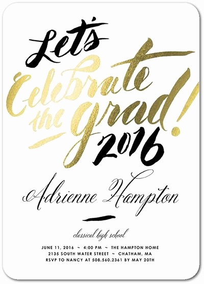 Invitation Inserts for Graduation Party Lovely Graduation Announcement Wording Ideas