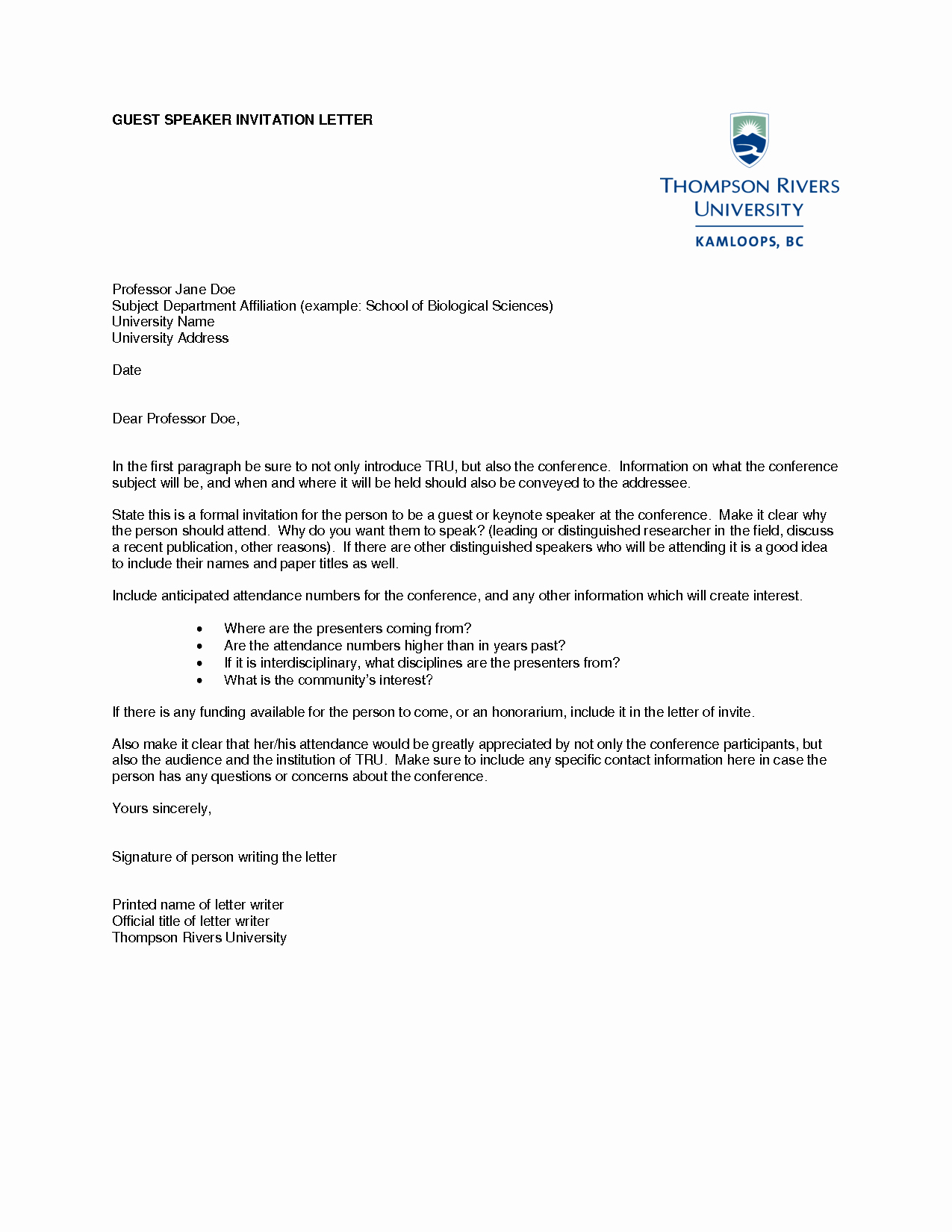 Invitation Letter for Speaker Best Of Graduation Invitation Examples