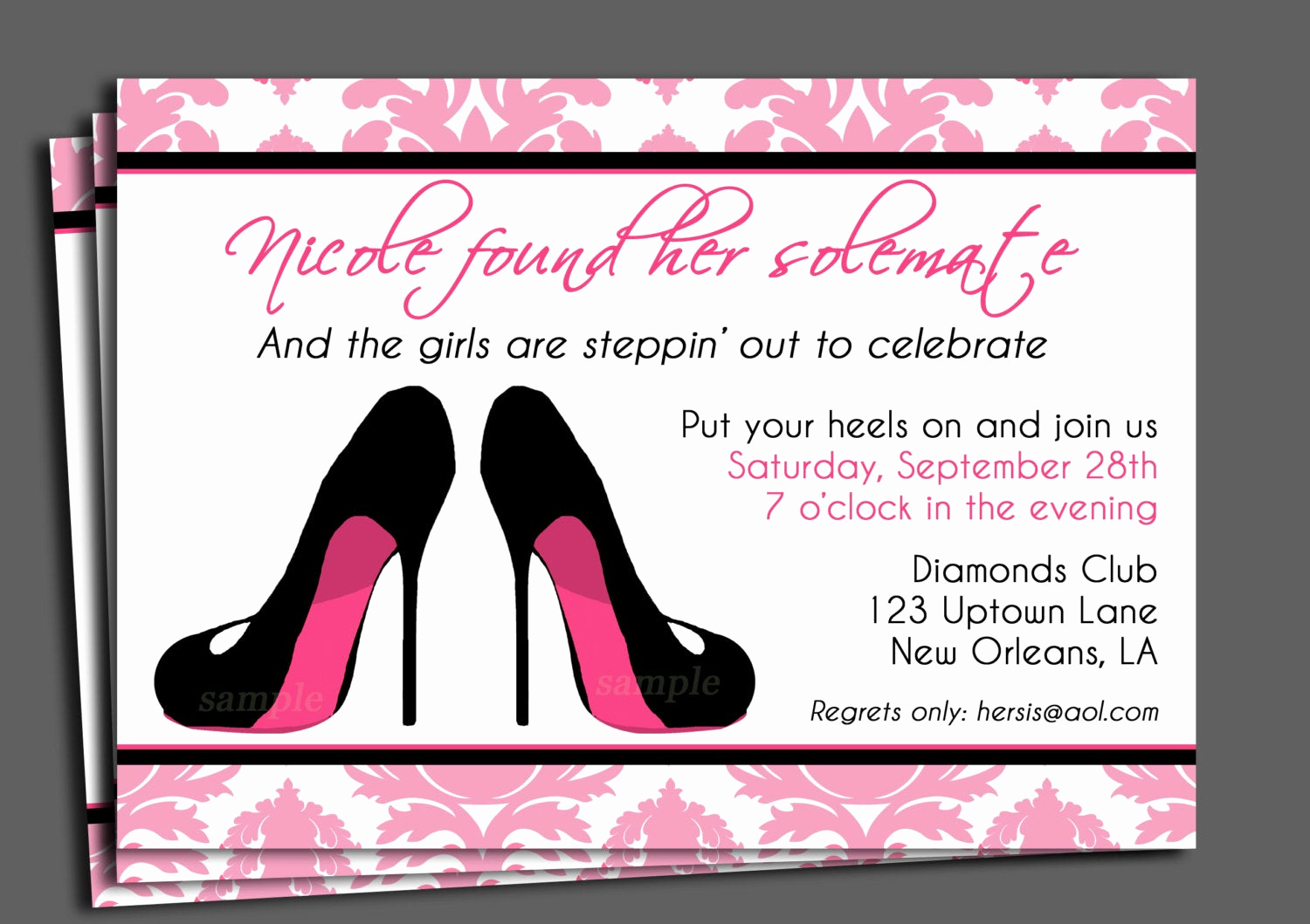 Invitation Message for Party Inspirational Bachelorette Party Invitation Printable or Printed with Free