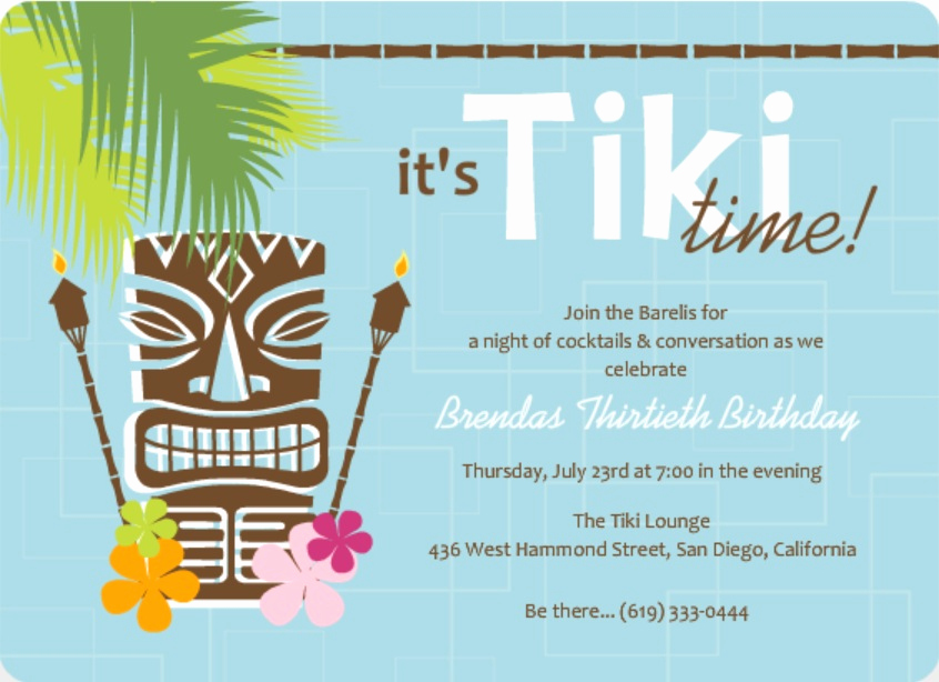 Invitation Message for Party Inspirational Luau Invitation Wording Ideas