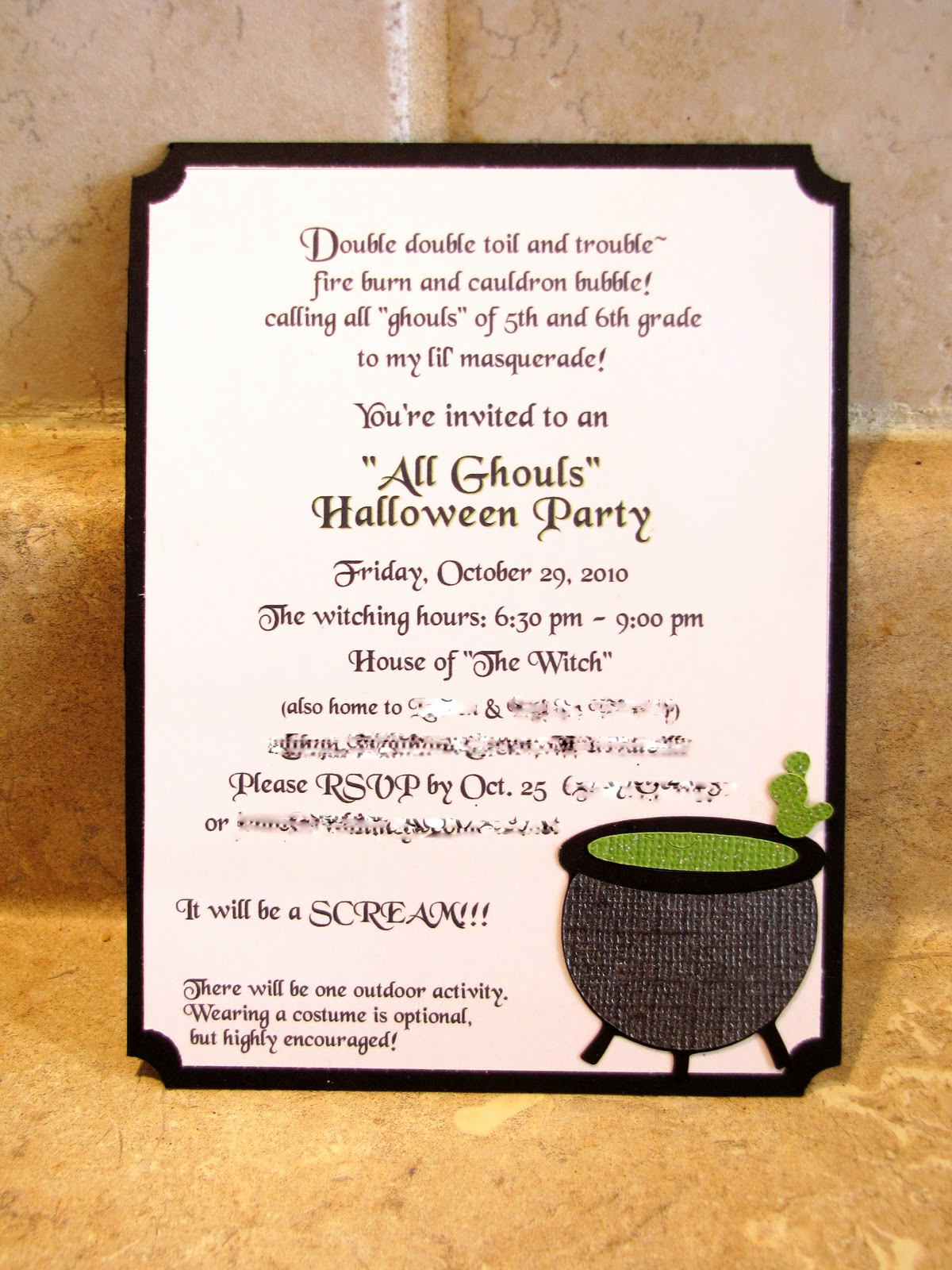 Invitation Quotes for Party Beautiful Jen S Happy Place October 2010