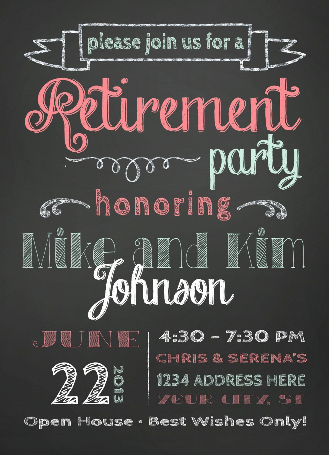 Invitation Quotes for Party New Retirement Party Invitation