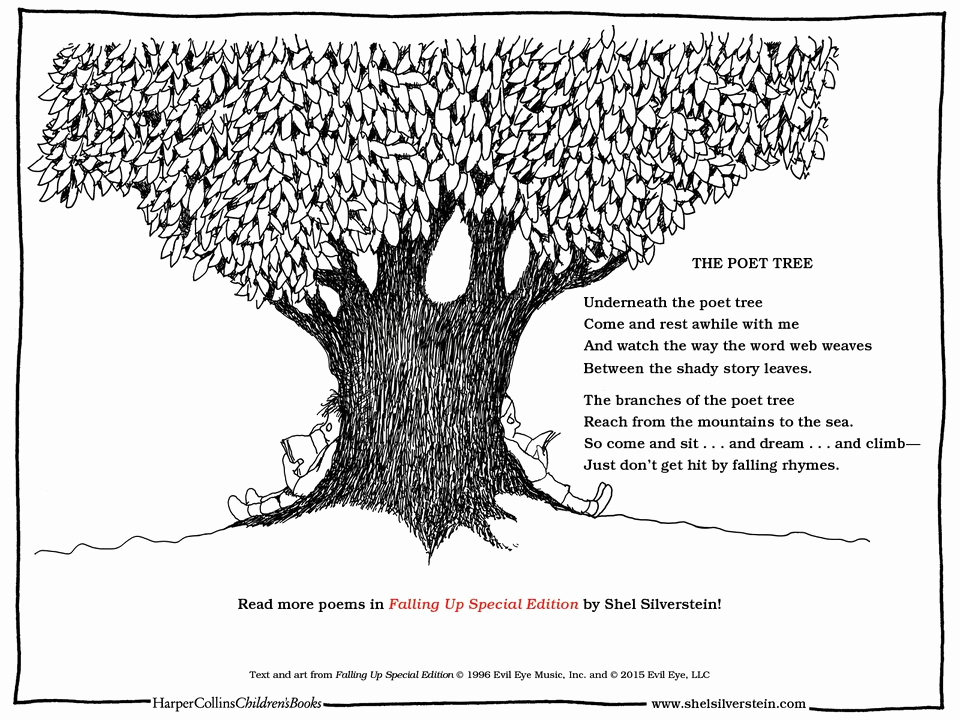 Invitation Shel Silverstein Poster Beautiful Fun