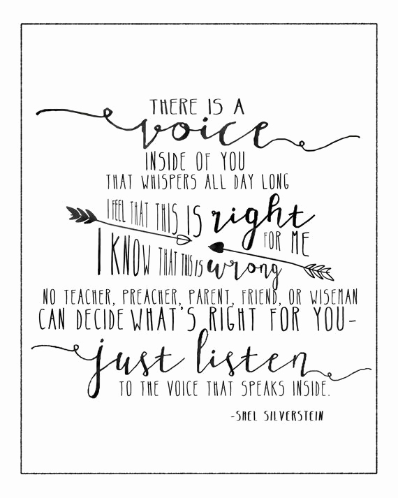 Invitation Shel Silverstein Poster Elegant the Voice by Shel Silverstein 8x10 and 5x7 Prints Art