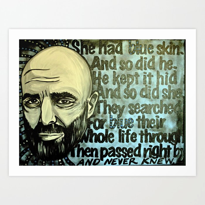 Invitation Shel Silverstein Poster Lovely Shel Silverstein Art Print by Portraits the Periphery