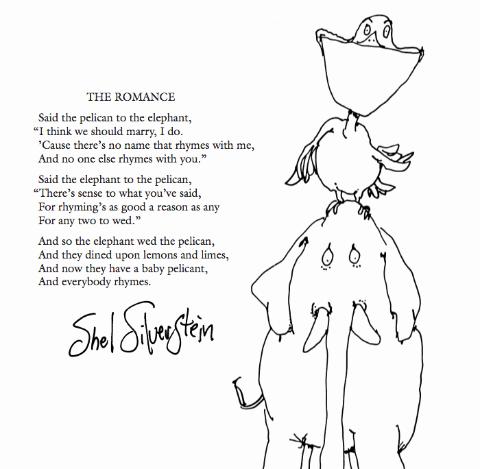 Invitation Shel Silverstein Poster Unique My Favourite Shel Silverstein Poem