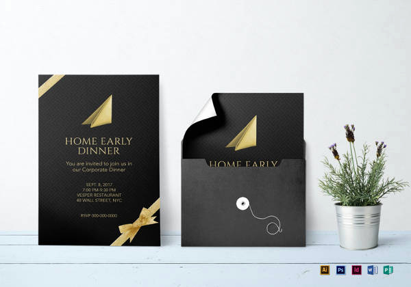 Invitation Template Google Docs Inspirational 13 Corporate Invitation Cards Psd Ai Vector Eps