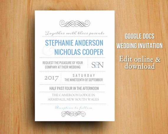 Invitation Template Google Docs Luxury 13 Best Google Docs Templates Images On Pinterest