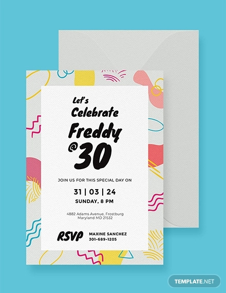Invitation Template Google Docs Luxury 19 Birthday Cards Psd Ai Google Docs Apple Pages