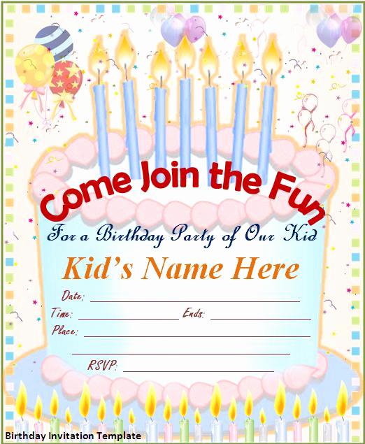 Invitation Template Google Docs New Birthday Invitation Template Google Docs – Lomer