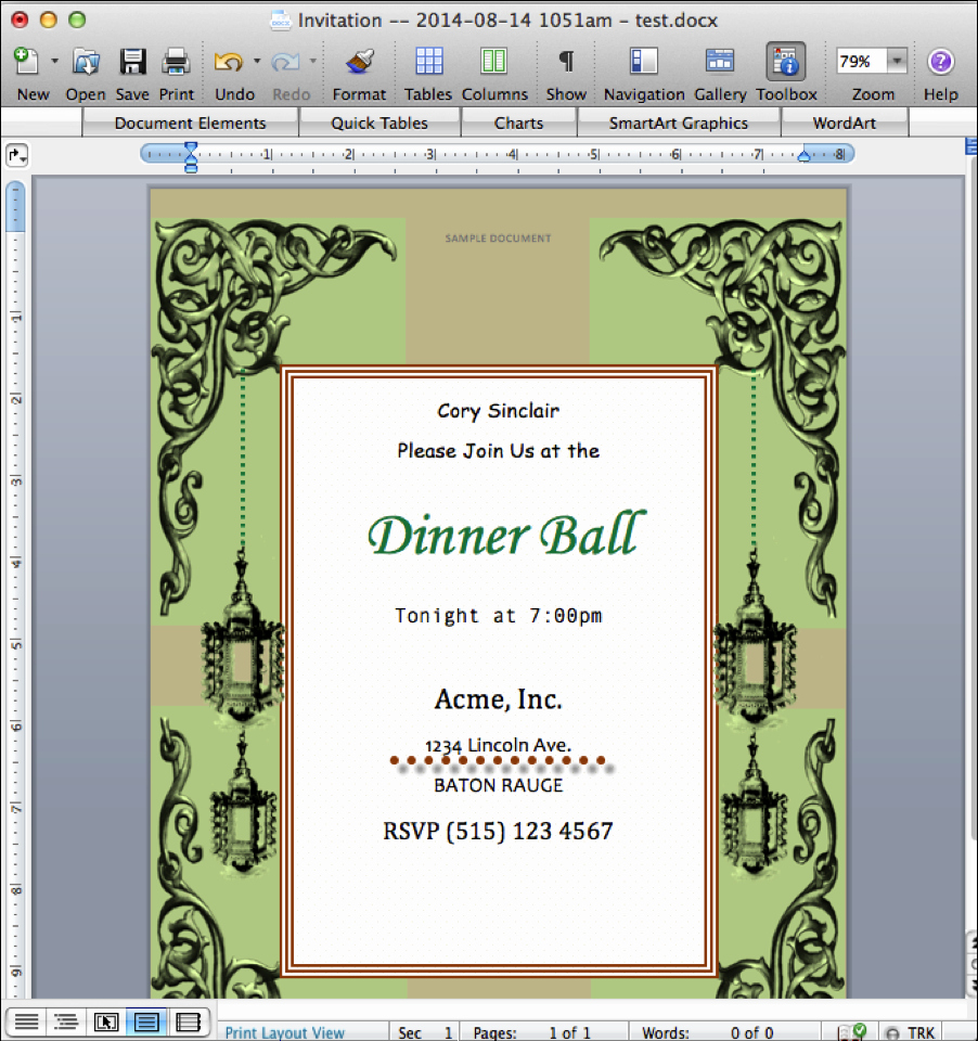 Invitation Template Google Docs New Create Invitations From Google forms and Spreadsheets with