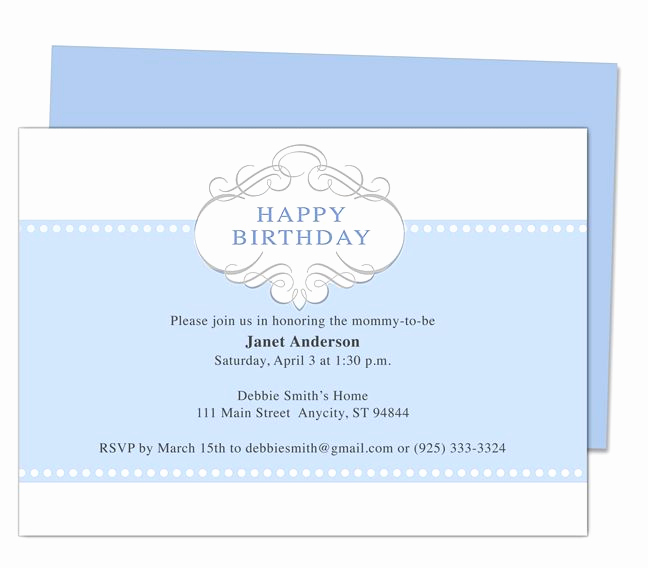 Invitation Templates for Word Unique 13 Best Images About Printable 1st First Birthday