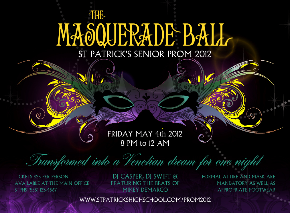 Invitation to A Ball Best Of Masquerade Ball Invitation