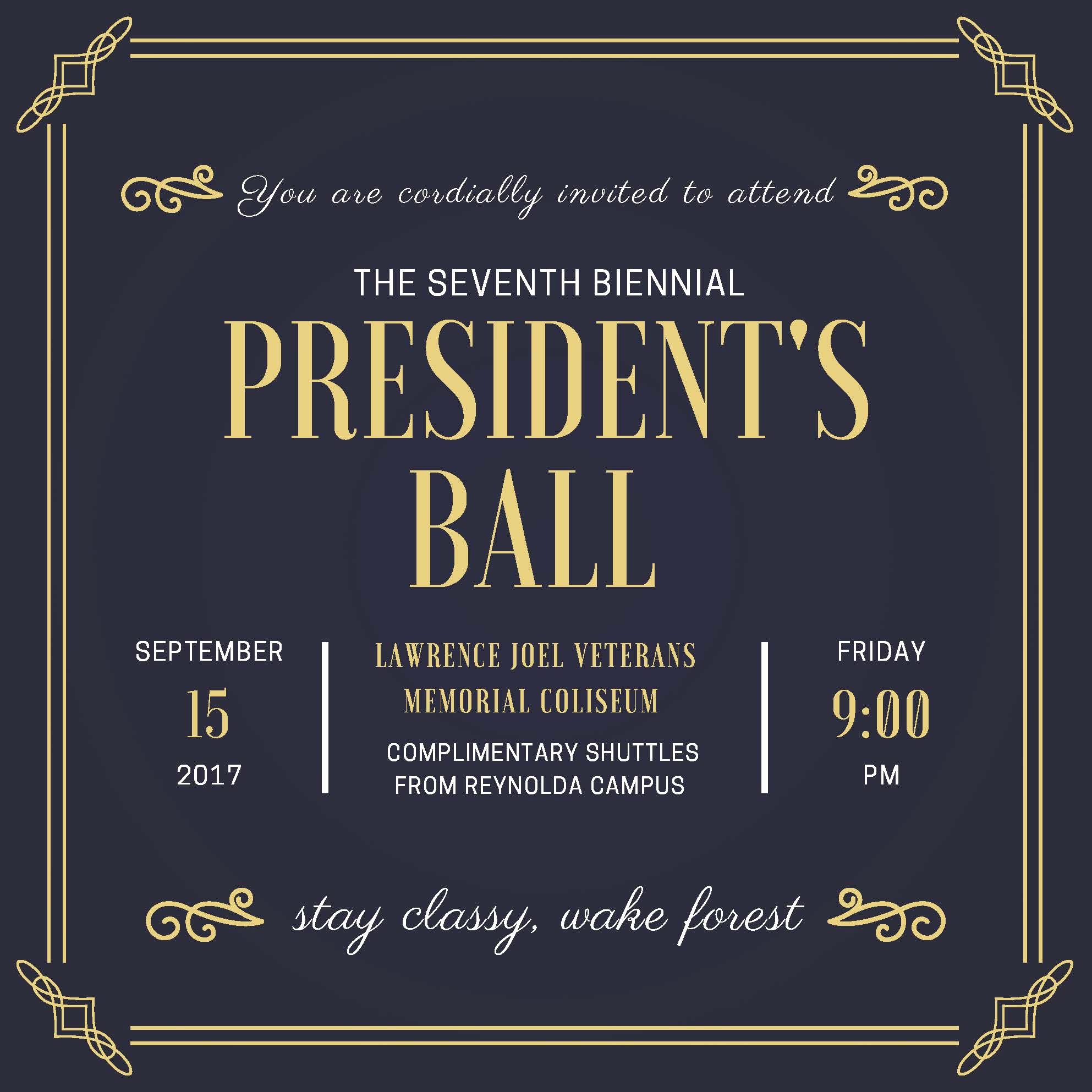 Invitation to A Ball Elegant Continuing to Think Of Our Deac Families In Irma S Path