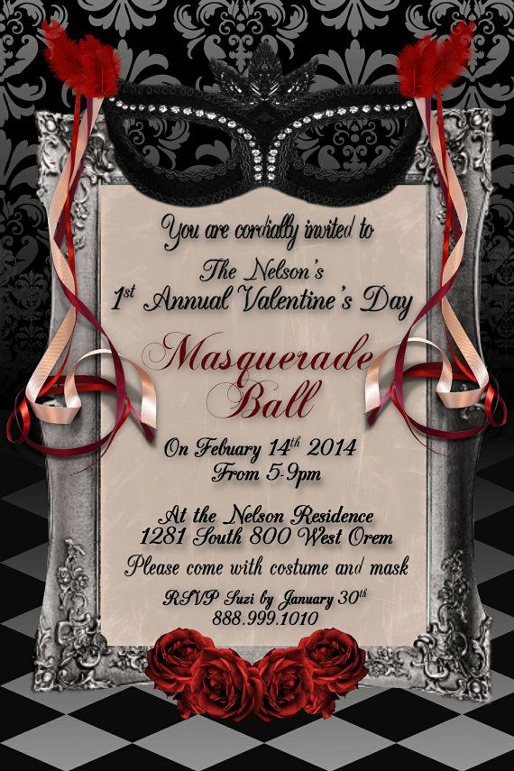 Invitation to A Ball Fresh 25 Best Ideas About Masquerade Ball Party On Pinterest