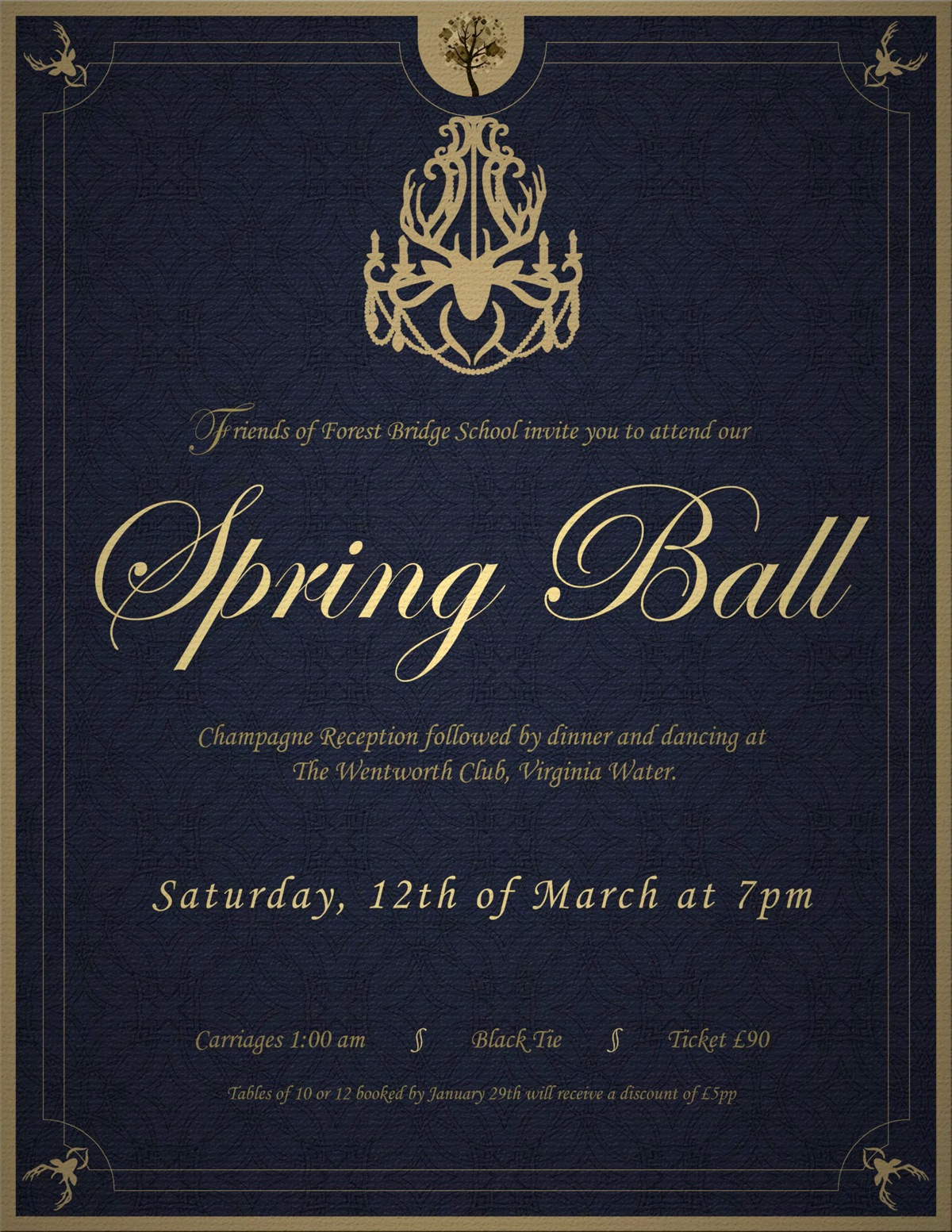 Invitation to A Ball Unique Ball Invitation