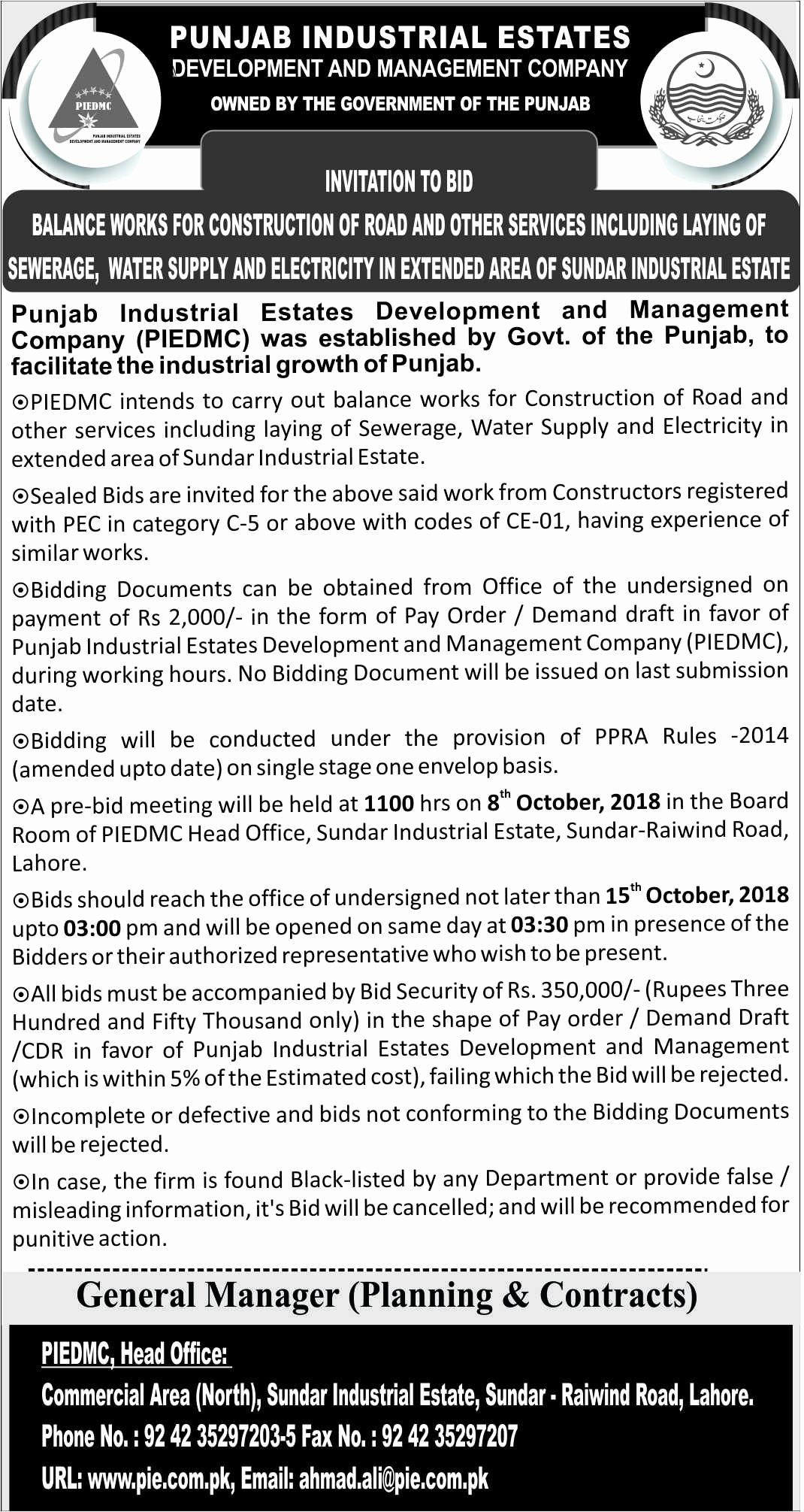 Invitation to Bid Template Beautiful Invitation to Bid – Balance Works for Construction Of Road
