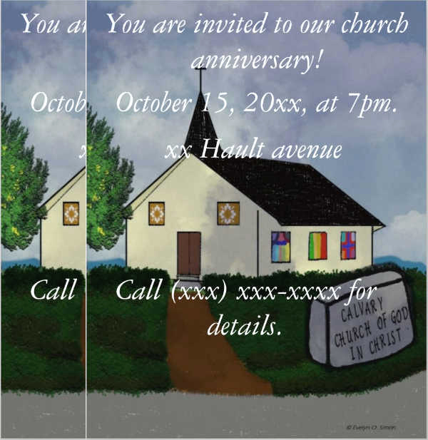 Invitation to Church Service Flyer Beautiful 47 Sample Invitation Flyers Psd Eps Ai