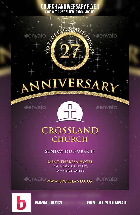 Invitation to Church Service Flyer Beautiful [48 ] Church Anniversary Wallpaper On Wallpapersafari