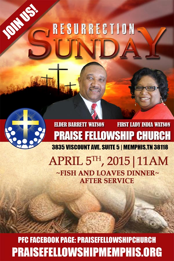 Invitation to Church Service Flyer Beautiful Local Memphis Church Invites All to Loaves & Fish Dinner