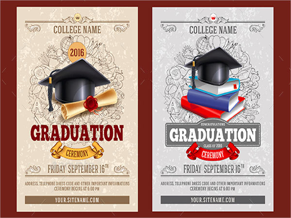 Invitation to Graduation Ceremony Awesome 42 Ceremony Invitation Designs Psd Ai Eps