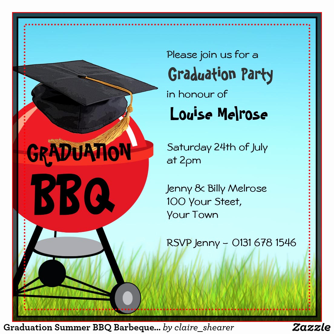 Invitation to Graduation Party Best Of Bbq Graduation Party Invitations