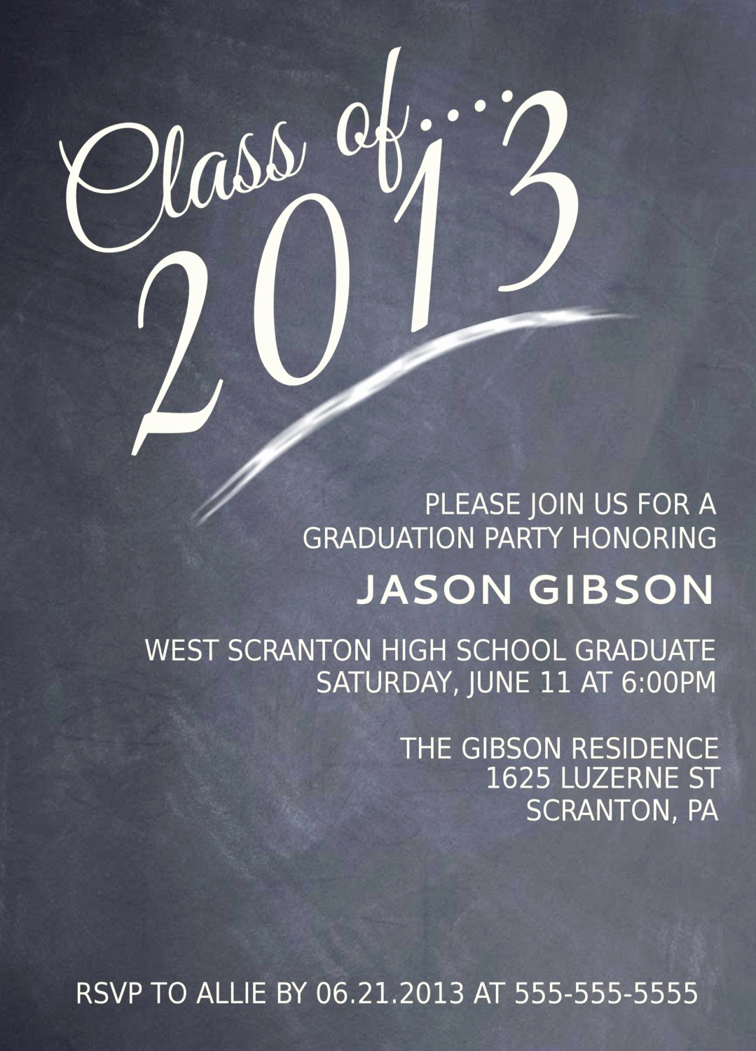 Invitation to Graduation Party Best Of Printable Graduation Party Invitation Graduation