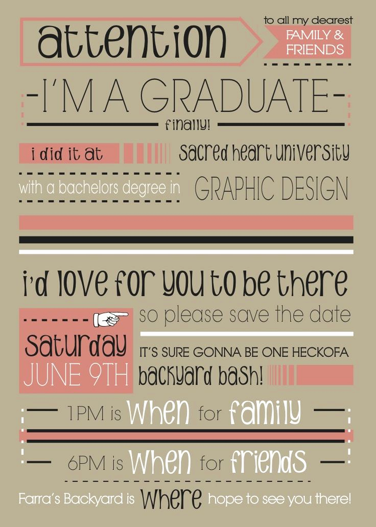 Invitation to Graduation Party Unique 17 Best Images About Graduation Invitations & Cards On